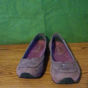 Eddie Bauer Purple Ballet Flats
